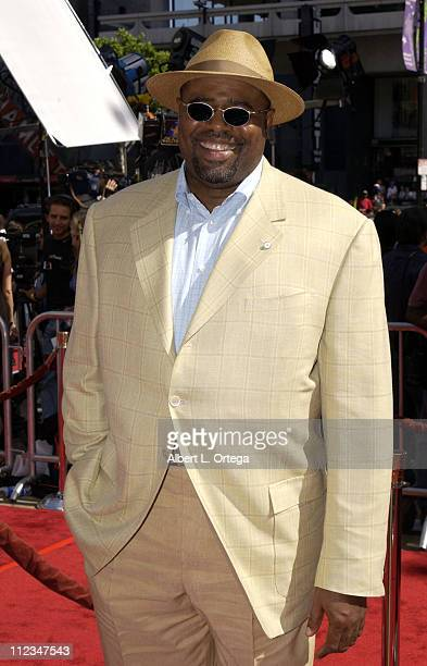 Chi McBride during Star Wars Episode II Attack of the Clones Charity Premiere Los Angeles at Grauman's Chinese Theater in Hollywood California United...