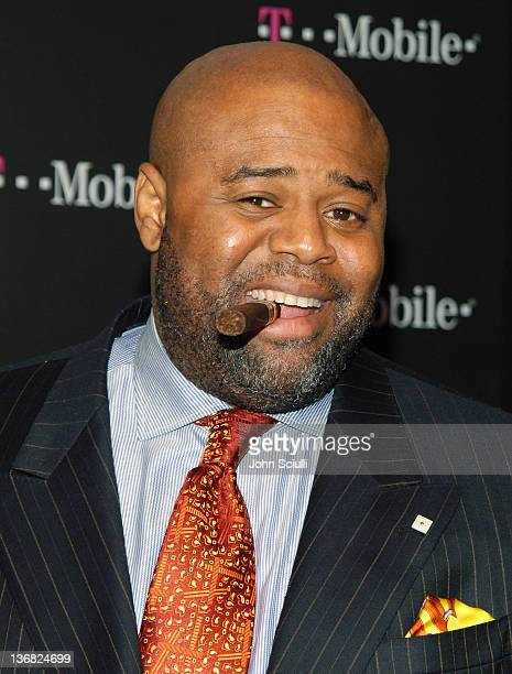 Chi McBride during TMobile NBA AllStar 2006 Party at TMobile Tent in Houston Texas United States