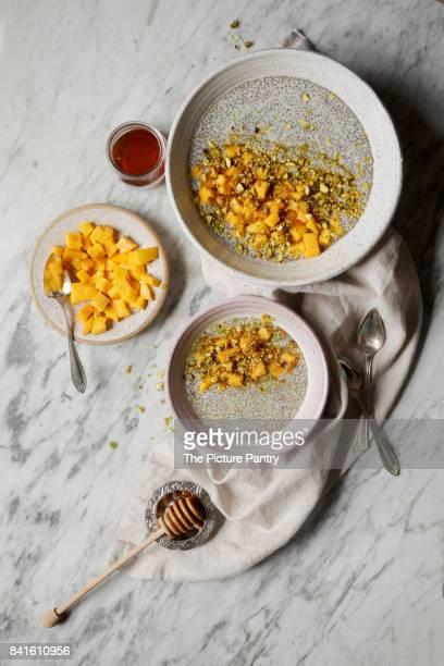 Chia Pudding with Mango
