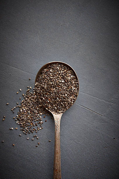 Chia Seeds Wall Art