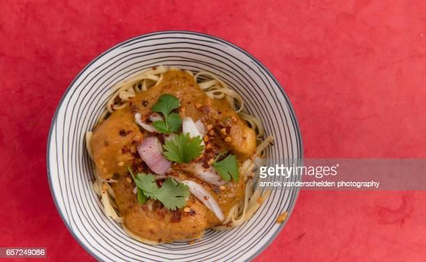 Chiang Mai noodles soup Kao Soi.