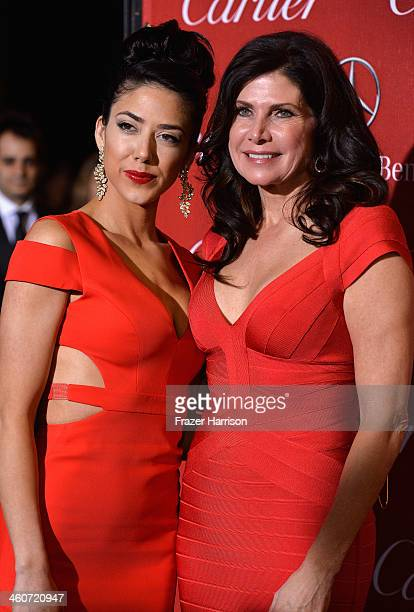 Chianna Maria Bono and Congresswomen Mary Bono arrive at the 25th Annual Palm Springs International Film Festival Awards Gala at Palm Springs...