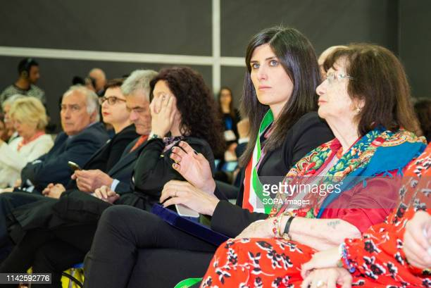 Chiara Appendino mayor of Turin seen during the event The International Book Fair is the most important Italian event in the publishing field It...