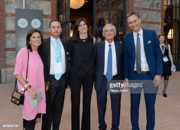 Chiara Appendino the major of Turin during the OGR Institutional Night on September 29 2017 in Turin Italy