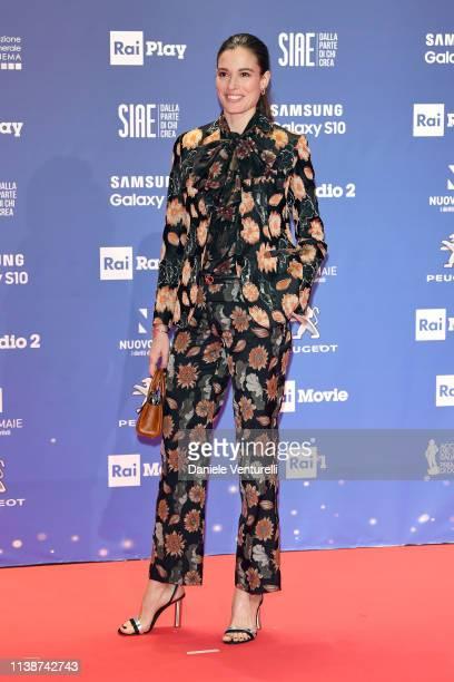 Chiara Baschetti attends the 64 David Di Donatello awards on March 27 2019 in Rome Italy