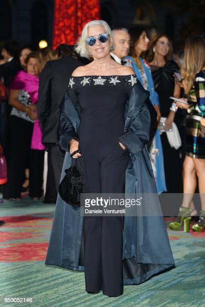 Chiara Boni attends the Green Carpet Fashion Awards Italia 2017 during Milan Fashion Week Spring/Summer 2018 on September 24 2017 in Milan Italy