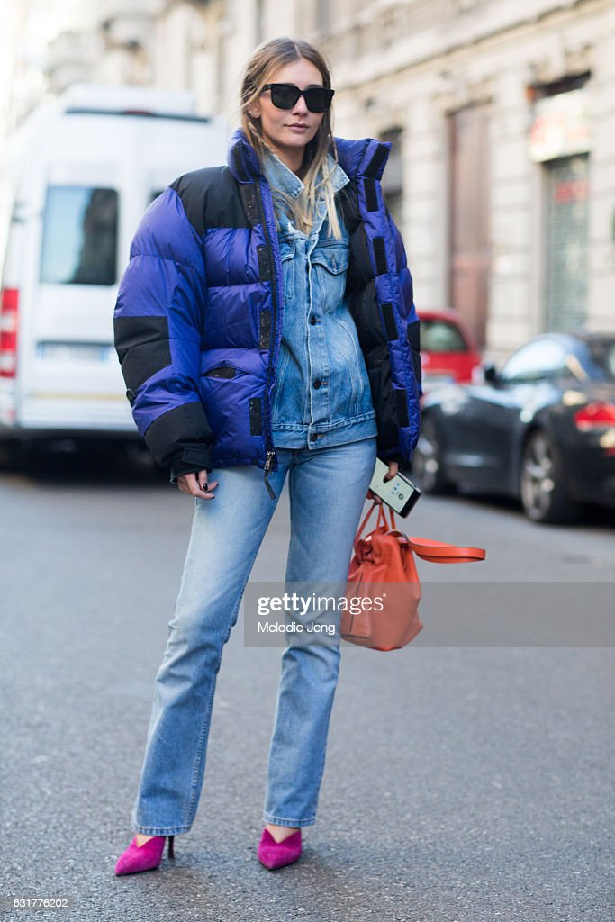 Street Style: January 15 - Milan Men's Fashion Week Fall/Winter 2017/18 : Photo d'actualité