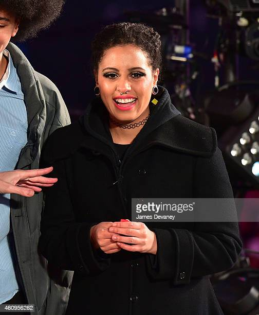 Chiara De Blasio attends New Year's Eve 2015 in Times Square on December 31 2014 in New York City