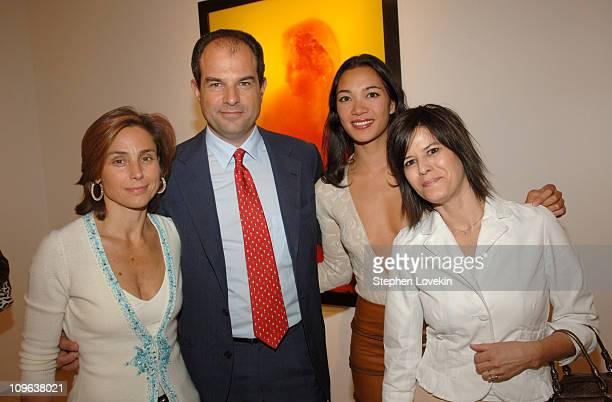 Chiara Ferragamo, Massimo Ferragamo, Carmen Zita and Andrea Salerno