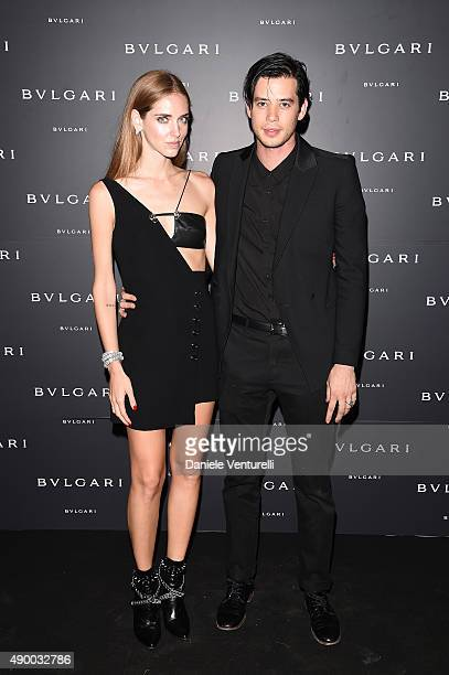 Chiara Ferragni And Andrew Arthur Attend The Bulgari Dinner Party News Photo Getty Images