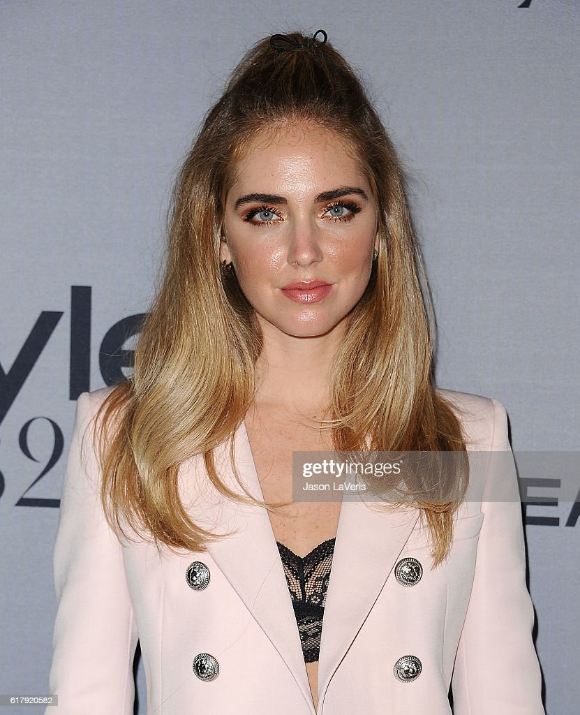 Chiara Ferragni attends the 2nd annual InStyle Awards at Getty Center on October 24, 2016 in Los Angeles, California.