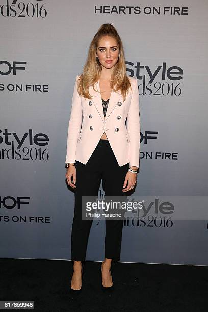 Chiara Ferragni attends the 2nd Annual InStyle Awards at The Getty Center on October 24 2016 in Los Angeles California