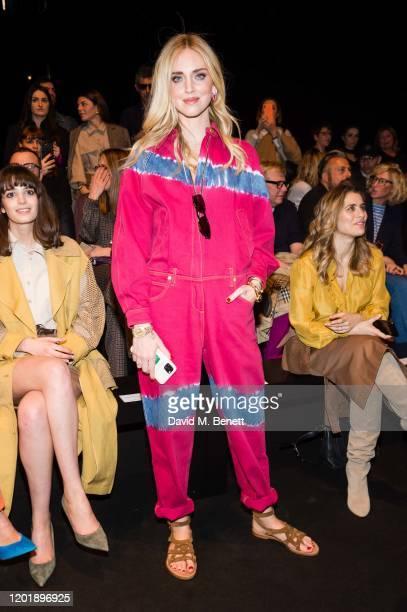 Chiara Ferragni attends the Alberta Ferretti show during Milan Fashion Week Fall/Winter 2020-2021 on February 19, 2020 in Milan, Italy.