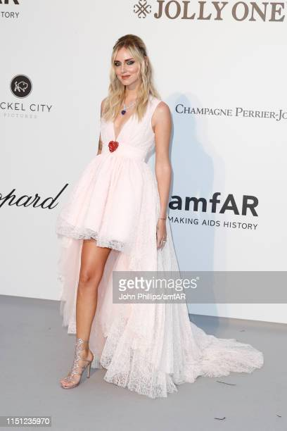 Chiara Ferragni attends the amfAR Cannes Gala 2019 at Hotel du CapEdenRoc on May 23 2019 in Cap d'Antibes France