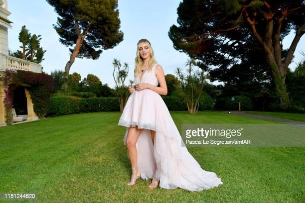 Chiara Ferragni attends the amfAR Cannes Gala 2019 at Hotel du Cap-Eden-Roc on May 23, 2019 in Cap d'Antibes, France.