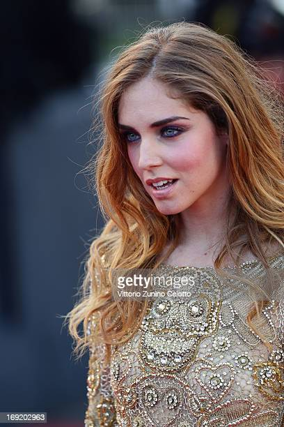 Chiara Ferragni attends the 'Behind The Candelabra' premiere during The 66th Annual Cannes Film Festival at Theatre Lumiere on May 21 2013 in Cannes...