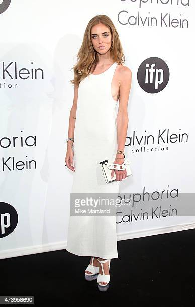 Chiara Ferragni attends the Calvin Klein party during the 68th annual Cannes Film Festival on May 18 2015 in Cannes France