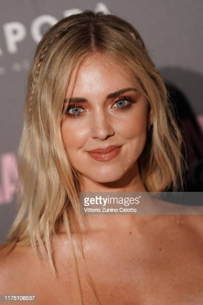 Chiara Ferragni attends the Chiara Ferragni Unposted premiere in Milan on September 16 2019 in Milan Italy
