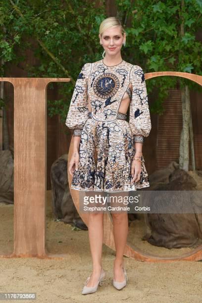 Chiara Ferragni attends the Christian Dior Womenswear Spring/Summer 2020 show as part of Paris Fashion Week on September 24, 2019 in Paris, France.