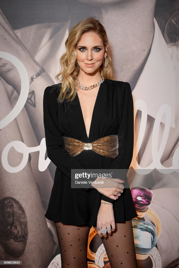Pomellato Launches Campaign With Chiara Ferragni - Cocktail & Dinner - Paris Fashion Week