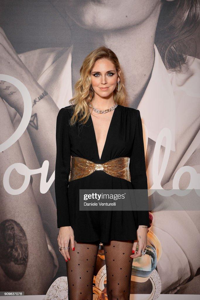 Pomellato Launches Campaign With Chiara Ferragni - Cocktail & Dinner - Paris Fashion Week