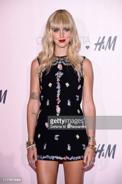 Chiara Ferragni attends the 'Giambattista Valli Loves HM' Show on October 24 2019 in Rome Italy