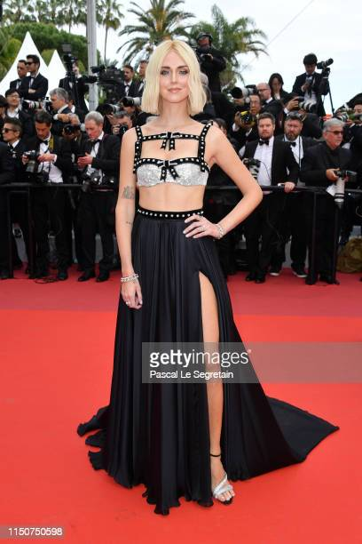 Chiara Ferragni attends the screening of Once Upon A Time In Hollywood during the 72nd annual Cannes Film Festival on May 21 2019 in Cannes France