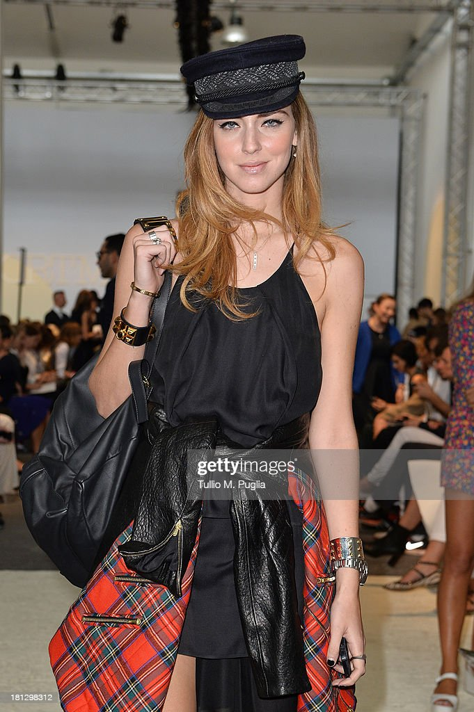 Chiara Ferragni attends the Sportmax show as a part of Milan Fashion Week Womenswear Spring/Summer 2014 on September 20, 2013 in Milan, Italy.