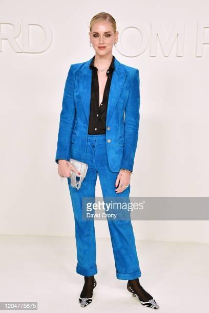 Chiara Ferragni attends the Tom Ford AW/20 Fashion Show at Milk Studios on February 07, 2020 in Los Angeles, California.