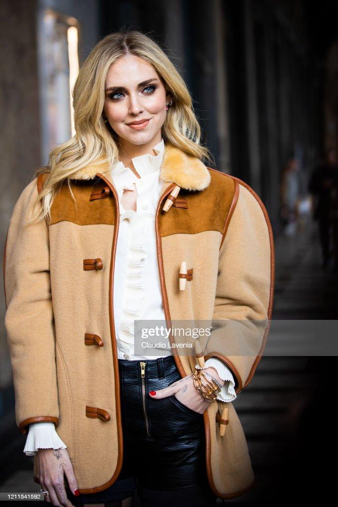 Street Style: February 22nd - Milan Fashion Week Fall/Winter 2020-2021 : ニュース写真