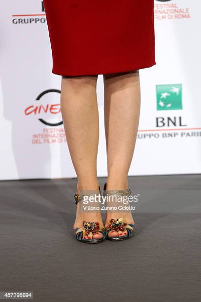 Chiara Francini attends the 'Soap Opera' Photocall during The 9th Rome Film Festival at the Auditorium Parco Della Musica on October 16 2014 in Rome...