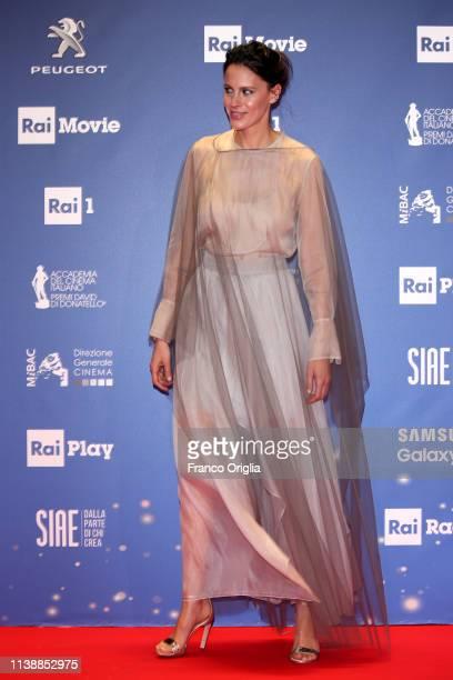 Chiara Martegiani attends the 64 David Di Donatello awards on March 27 2019 in Rome Italy
