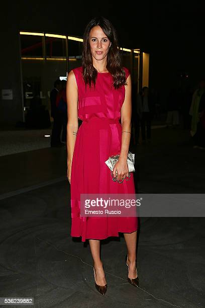 Chiara Martegiani attends the Nastri D'Argento 2016 Award Nominations at Maxxi Museum on May 31 2016 in Rome Italy