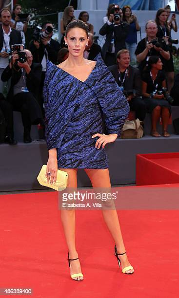 Chiara Martegiani attends the premiere of 'Spotlight' during the 72nd Venice Film Festival on September 3 2015 in Venice Italy
