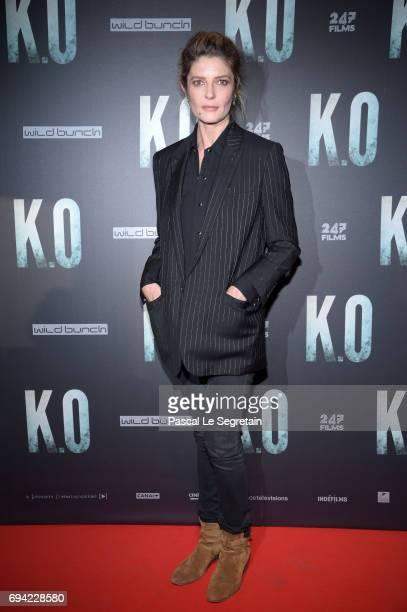 Chiara Mastroianni attends KO Premiere at Gaumont Capucines on June 9 2017 in Paris France
