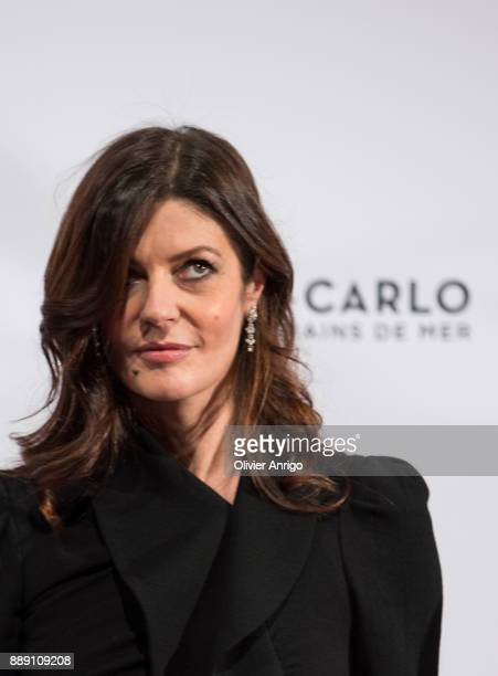 Chiara Mastroianni attends 'Surrealist Dinner Charles Kaisin' at Casino de MonteCarlo on December 9 2017 in Monaco Monaco