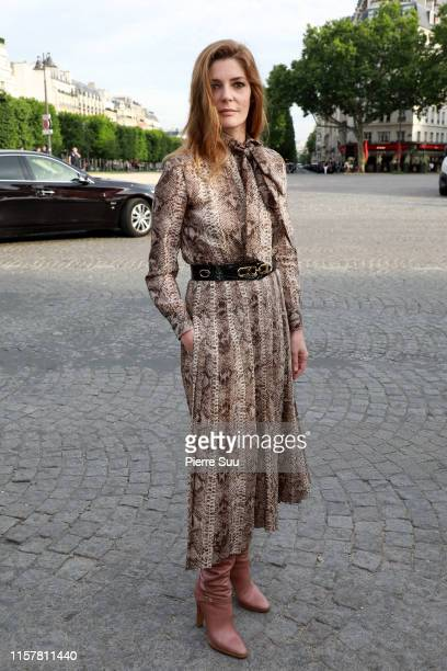 Chiara Mastroianni attends the Celine Menswear Spring Summer 2020 show as part of Paris Fashion Week on June 23 2019 in Paris France