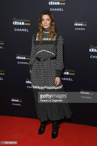Chiara Mastroianni attends the Cesar Revelations 2020 Photocall at Petit Palais on January 13 2020 in Paris France