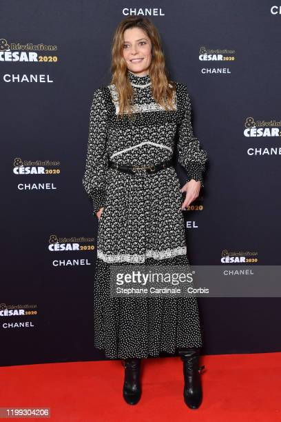 "Chiara Mastroianni attends the ""Cesar - Revelations 2020"" Photocall at Petit Palais on January 13, 2020 in Paris, France."