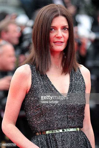 Chiara Mastroianni attends the Opening ceremony and the 'Grace of Monaco' Premiere during the 67th Annual Cannes Film Festival on May 14 2014 in...