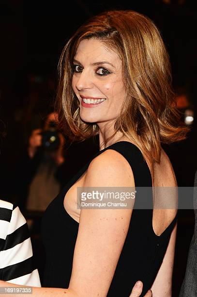 Chiara Mastroianni attends the Premiere of 'Les Salauds' during The 66th Annual Cannes Film Festival at Palais des Festivals on May 21 2013 in Cannes...