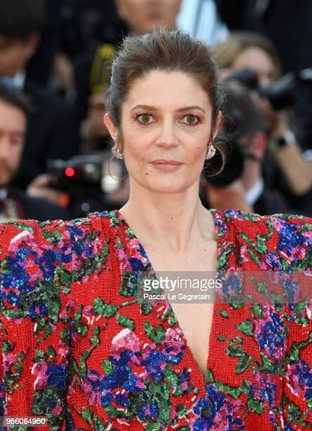 Chiara Mastroianni attends the screening of Everybody Knows and the opening gala during the 71st annual Cannes Film Festival at Palais des Festivals...