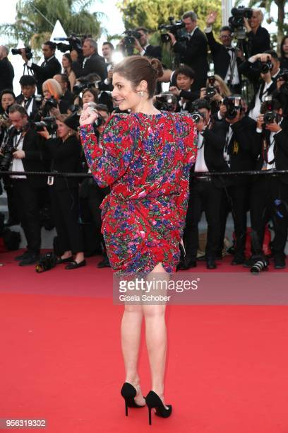 Chiara Mastroianni attends the screening of 'Everybody Knows ' and the opening gala during the 71st annual Cannes Film Festival at Palais des...