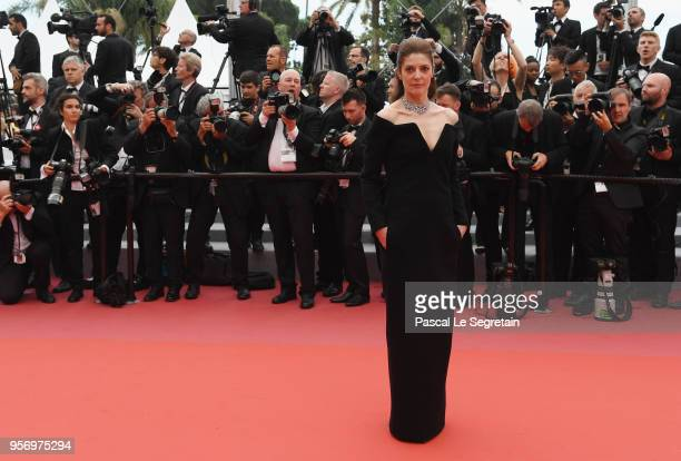 Chiara Mastroianni attends the screening of Sorry Angel during the 71st annual Cannes Film Festival at Palais des Festivals on May 10 2018 in Cannes...