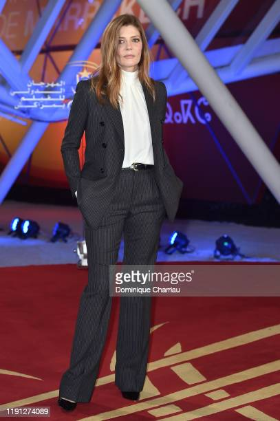 Chiara Mastroianni attends the tribute to Bertrand Tavernier during the 18th Marrakech International Film Festival Day Three on December 01 2019 in...