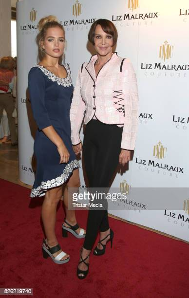 Chiara Moon Horst and Anouschka Renzi during the Liz Malraux Fashion Show Autumn/Winter 201718 at Hotel Atlantic on August 3 2017 in Hamburg Germany