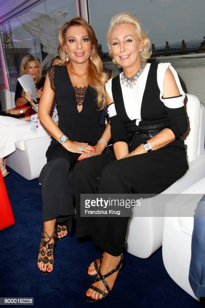 Chiara Ohoven and Claudia Jerger attend the 'Bertelsmann Summer Party' at Bertelsmann Repraesentanz on June 22 2017 in Berlin Germany