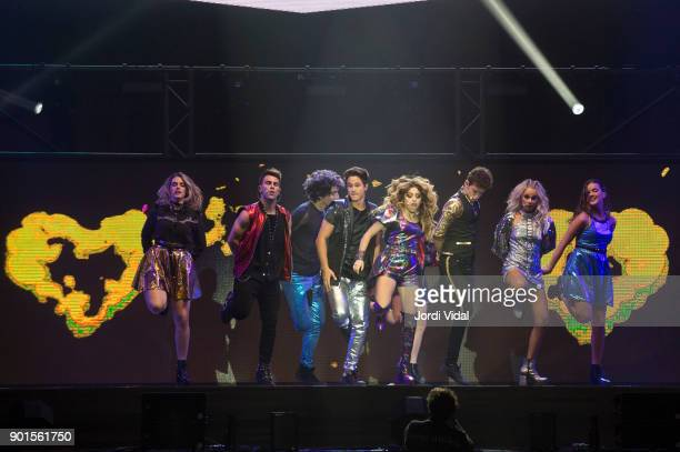 Chiara Parravicini Gaston Vietto Jorge Lopez Michael Ronda Karol Sevilla Ruggero Pasquarelli Valentina Zenere and Marlena Ratner perform on stage...