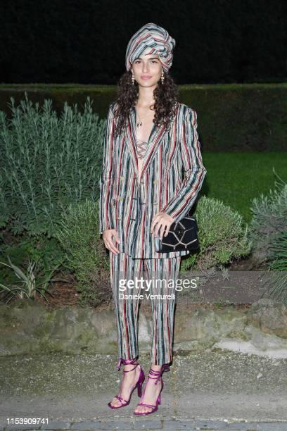 Chiara Scelsi attends the McKim Medal Gala 2019 at Villa Aurelia on June 05 2019 in Rome Italy