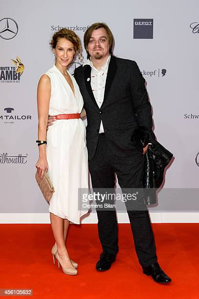 Chiara Schoras and Nils Bokelberg attend the Tribute To Bambi 2014 at Station on September 25 2014 in Berlin Germany